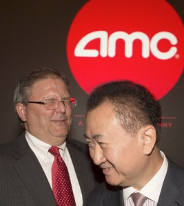 Wang acquired the America-based cinema operator AMC last year [Xinhua Images]