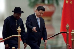 Nigerian President Goodluck Jonathan and his Chinese counterpart, Xi Jinping, had in July this year presided over the signing of accords between their governments to facilitate $1.1bn in low-interest loans for infrastructure projects in Nigeria [AP]