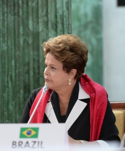 Rousseff is pushing new legislation that would seek to force Google, Facebook and other internet companies to store locally gathered data inside Brazil [Getty Images]