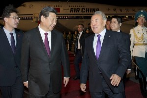 Chinese President Xi Jinping announced the deal at the end of a state visit to Kazakhstan [Xinhua]