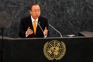UN Secretary-General Ban Ki-Moon says all parties must respect the tenets of the 21-year-old peace treaty [Getty Images]