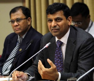 Rajan has disputed the IMF's revised growth forecasts [Xinhua]