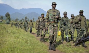 The FARDC national army has delivered a series of defeats to the M23 rebels [AP]