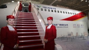 The COMAC C919 will compete with the Airbus A320 and Boeing 737 aircrafts [Xinhua]