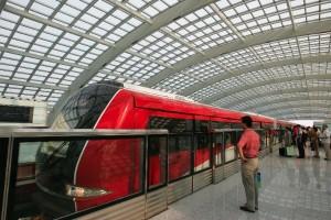 CSR is China's leading bullet train maker, and CSR Zhuzhou Electric Locomotive manufactures European-standard metro trains [Xinhua]