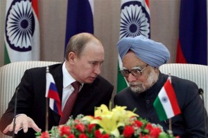 Moscow and New Delhi are traditional partners in various areas, including trade, military cooperation, culture and education [AP]