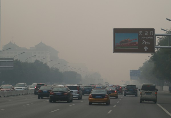 The city of Beijing has long been looking for ways to curb its vehicle-related smog [Xinhua}