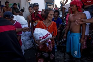 Relief aid has been stepped up as the UN warns that up to four million people could have been displaced by Super Typhoon Haiyan [Getty Images]