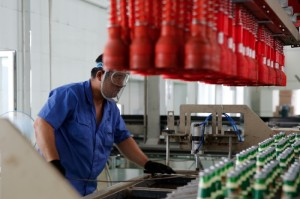 China's purchasing managers' index (PMI) for the manufacturing sector rose to 51.4 per cent in October [Getty Images]
