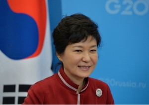 Free Trade Agreement (FTA) talks received a significant push during South Korean President Park Geun-hye's state visit to Beijing in June [Getty Images]