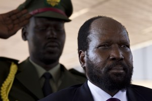 Kiir, above, accused his vice-president of orchestrating a coup [Getty Images]
