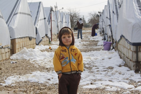Many Syrian Refugees are at risk as temperatures drastically fall in the Middle East, the UN says [Xinhua]