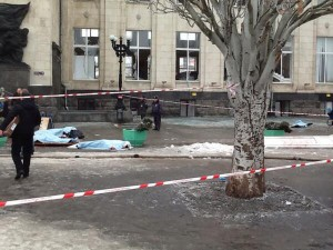 The most critically wounded in the blast were flown to Moscow, officials said [AP[
