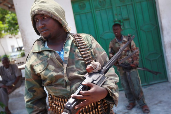 African Union peacekeepers and the Somali military have waged a war against Al-Qaeda affiliated groups in Mohadishu [Getty Images]