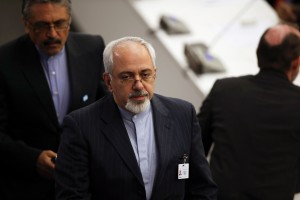 Zarif sought to calm Arab fears that a nuclear deal would come at their espense [Getty Images]