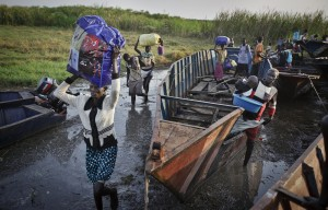 The UN says the fighting in South Sudan has displaced at least 200,000 people [AP]