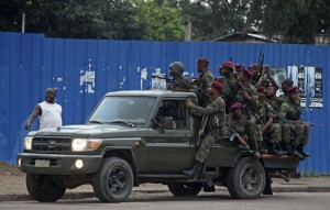 Congolese troops repelled militia attacks in the capital Kinshasa [AP]