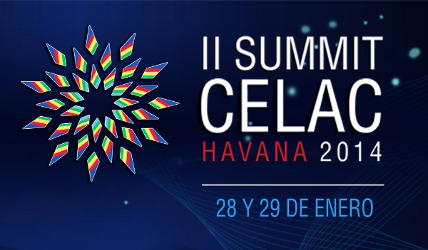 Cuba will host the entire continent of the Americas, except the US and Canada who have not been invited, at the 2nd Summit of the Latin American and Caribbean Community of States (CELAC) to be held on January 28-29 [Image Courtesy: CELAC]