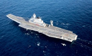 The Vikramaditya has been requipped to carry Mig-29K fighter jets [Image Courtesy: Indian Navy]