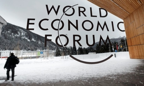 A group of more than 2500 politicians, business leaders and academics are gathering to discuss the state of global economy for five days that opened today at the World Economic Forum's annual gathering in the Swiss ski resort of Davos [AP]