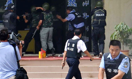 China's energy-rich Xinjiang has been beset by violence as 91 people were killed in the region in recent months [AP]