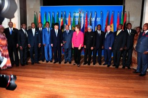 "At the 5th BRICS Summit in Durban, Putin likened the group of 5 to Africa's ""Big Five"" game beasts of trophy hunting lore - the lion, elephant, buffalo, leopard and rhinoceros [GCIS]"