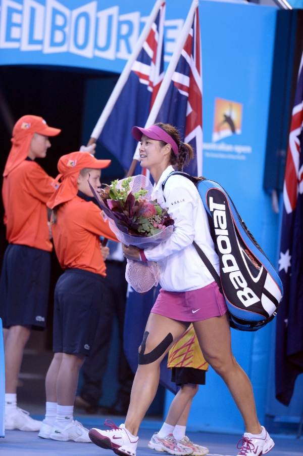 She had won the 2011 French Open, becoming Asia's first grand slam singles champion [Xinhua]