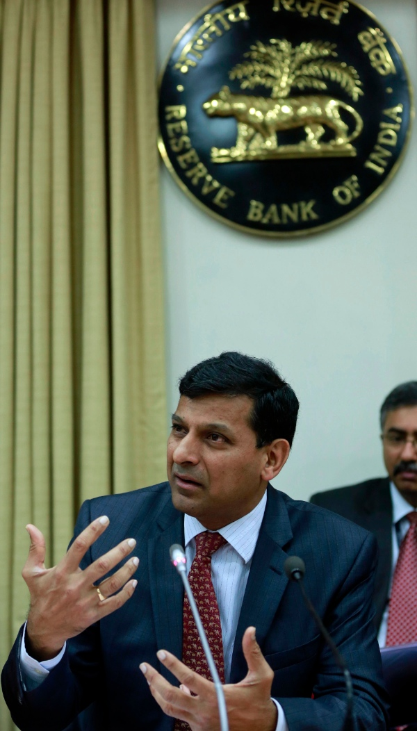 "Rajan warned that unless there was greater coordination, industrialised nations ""may not like the kinds of adjustments we (emerging markets) will be forced to do down the line"" [AP]"