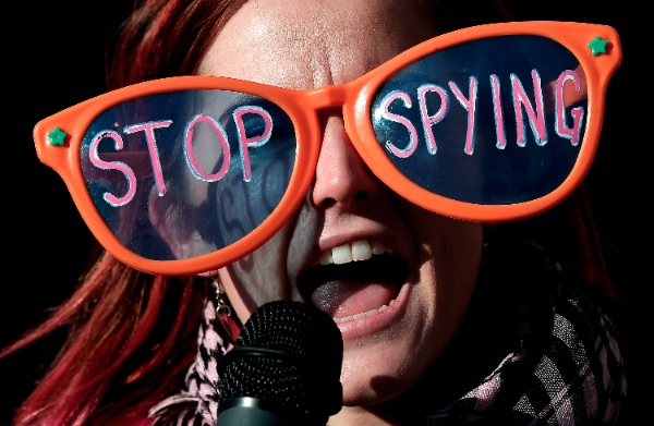 "Rousseff had earlier said the US spying program was ""economic espionage"" [Getty Images]"