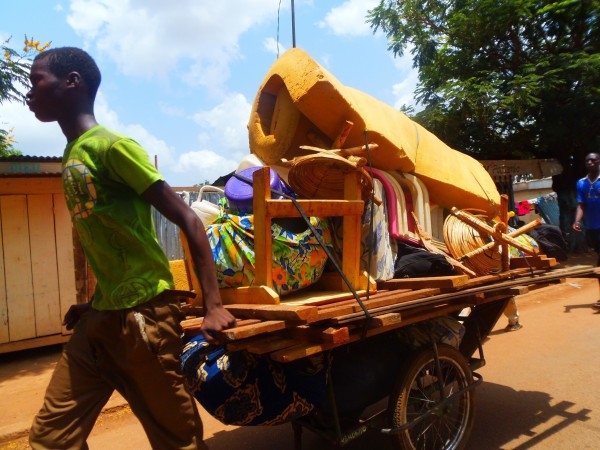 Thousands of civilians, mostly Muslims, have fled the capital Bangui in recent weeks [Xinhua]