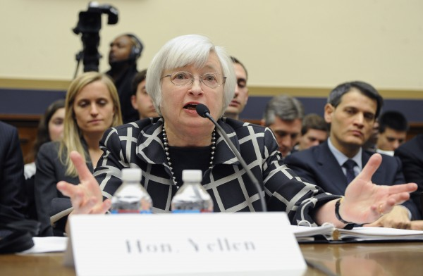 Yellen said she would continue measured steps of tapering the stimulus fund [Xinhua]