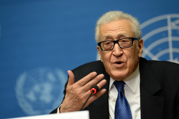 UN and Arab League envoy Lakhdar Brahimi said that the two sides in the Syrian Civil War are unable to bridge their differences [Xinhua]