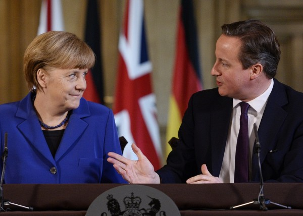 Merkel told Cameron the UK should work with its European partners to change some aspects of the EU working mechanism [AP]
