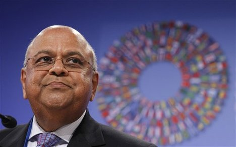 South African Finance Minister Pravin Gordhan has said that emerging economies like BRICS have had to bear the burden of slowing growth in the developed world [AP]