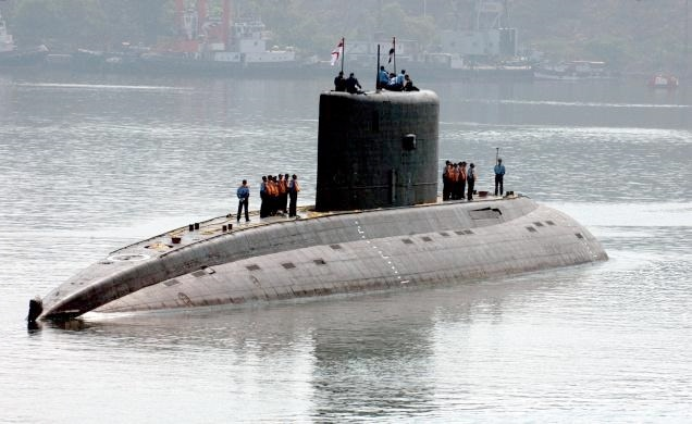 An accident occurred aboard a submarine on Wednesday morning in which seven navy personnel were injured [Image Courtesy: National Broadcaster]