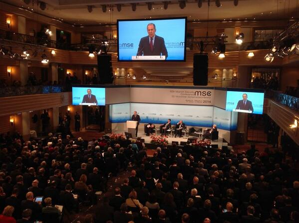 Lavrov was speaking at the annual Munich Security Conference on Saturday [MFA, Russia]