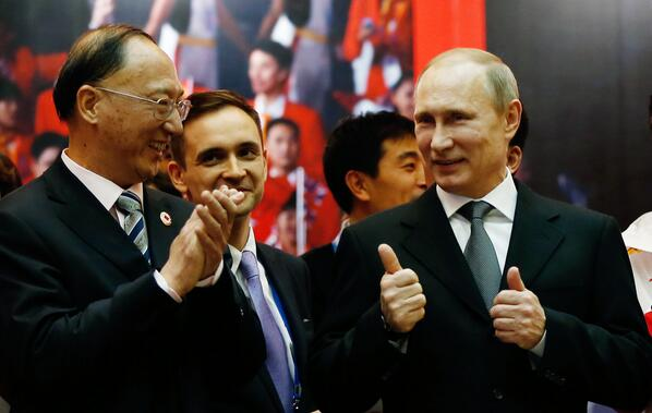 "Putin said the money was invested to make Sochi attractive for middle-class tourists, not for a small group of rich visitors ""who can afford losing hundreds of thousands of dollars in a casino."" [Xinhua]"