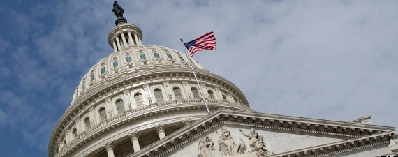 File photo shows the Capitol Dome on Capitol Hill in Washington [AP]