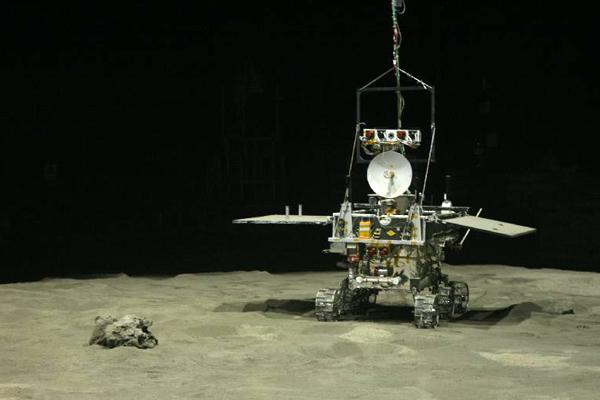 China's lunar mission spokesperson said Yutu has now been restored to its normal signal reception function [Xinhua]
