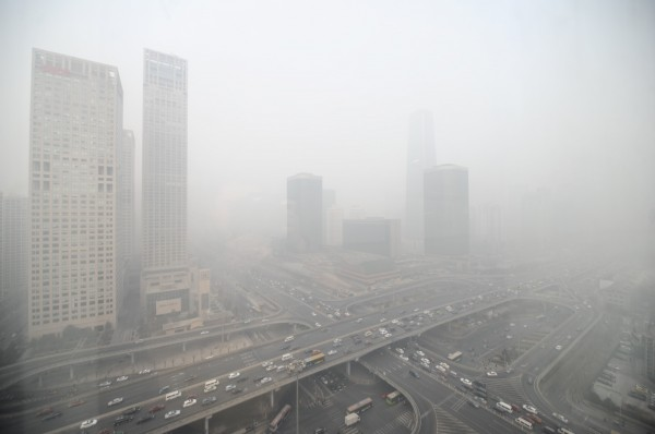 Beijing, along with 70 other major cities, failed China's air quality index test [Xinhua]