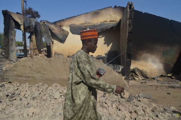 The Boko Haram group have razed buildings and entire villages [AP]