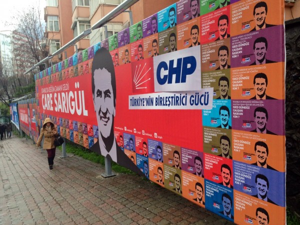 The opposition CHP party is hoping to weaken Erdogan and the AKP's hold on voters [Courtesy: Sabral]
