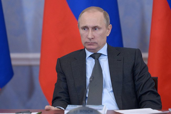 "Slamming all talk of war, Putin on Tuesday said "" there is no need to send military forces to Crimea"", although Russia retains the rights to do so [PPIO]"
