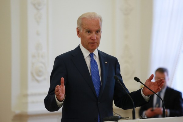 A Chinese spokesperson said Biden was interfering in internal affairs [Xinhua]