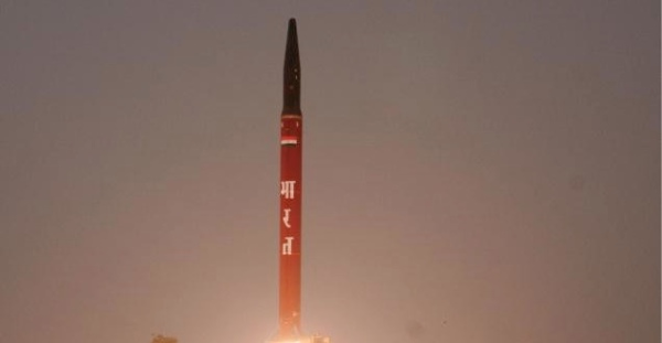 The Agni-I, with a range of 700 to 1,250 km, is a single stage, solid fuel, road and rail mobile, medium-range ballistic missile for use by the Indian Army [Ministry of Indian Defence]