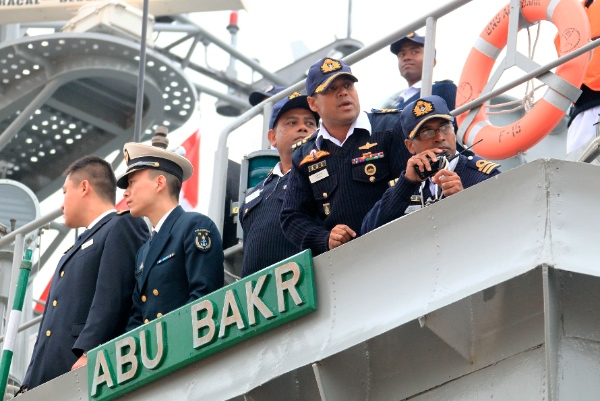 A naval ship from Bangladesh, the Abu Bakr, has reached east China's Qingdao on Saturday afternoon to take part in a massive joint naval exercise that China is hosting this month [Xinhua]