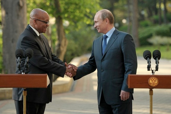 Putin and Zuma also discussed bilateral ties between the two BRICS members [PPIO]