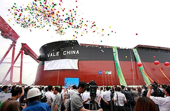 China is Vale's largest client in the iron ore trade [Xinhua]