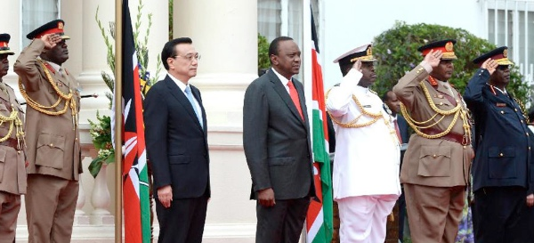 China has secured a place of honour in the history of Kenya's economic development, said the Kenyan President [Xinhua]