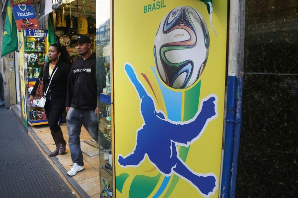 A total of 3.7 million people will crisscross Brazil during the World Cup games [Xinhua]